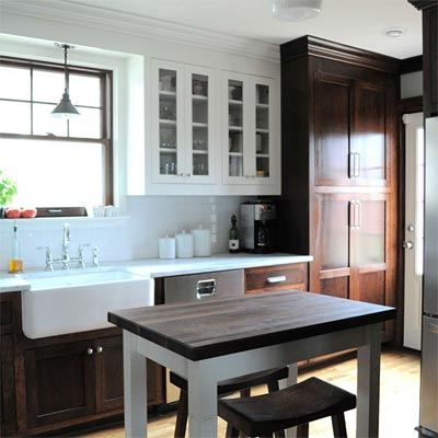 Classic Space for Classic Home: After image for TOH Reader Remodel Kitchen 2012