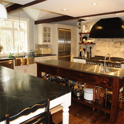 Farmhouse Kitchen: After image for TOH Reader Remodel Kitchen 2012