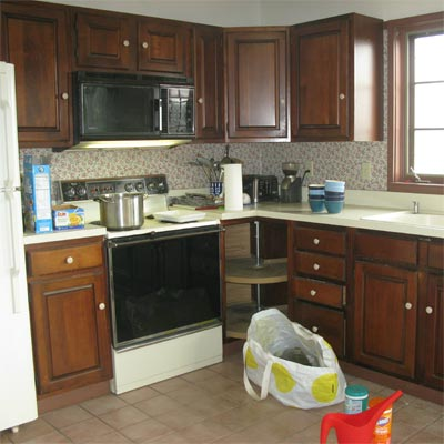 Beautiful View: Before image for TOH Reader Remodel Kitchen 2012