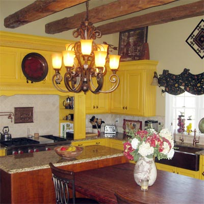 Tuscany-Inspired Design: After image for TOH Reader Remodel Kitchen 2012