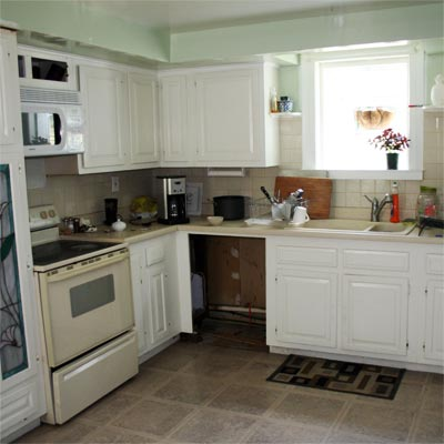 With a Little Help From Their Friends: Before image for TOH Reader Remodel Kitchen 2012
