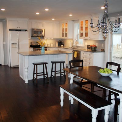 With a Little Help From Their Friends: After image for TOH Reader Remodel Kitchen 2012