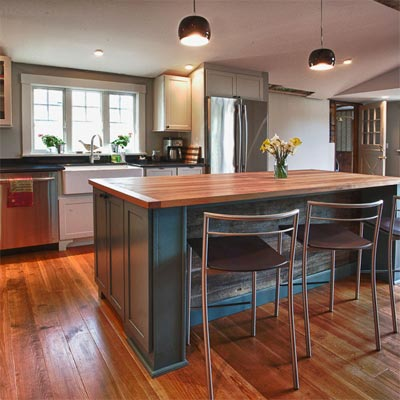 Cozy and Conventional: After image for TOH Reader Remodel Kitchen 2012