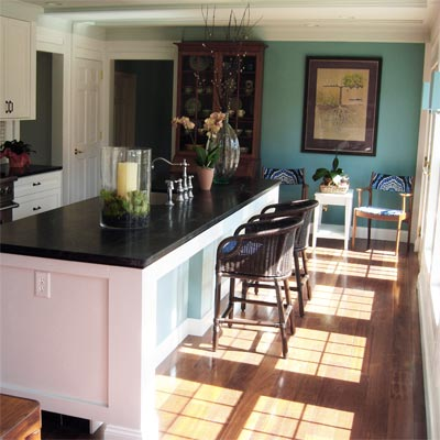 Garden View Inspires Remodel: After image for TOH Reader Remodel Kitchen 2012
