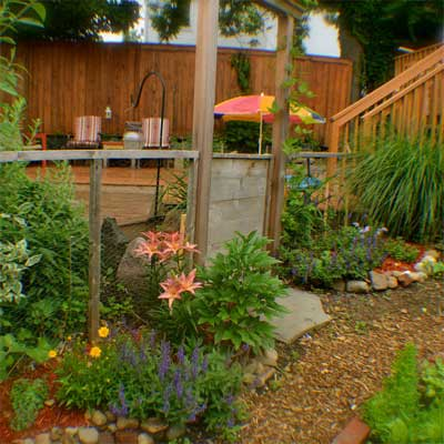 Spacious Vegetable Garden: After  for the this old house reader remodel yard and garden winners 2012