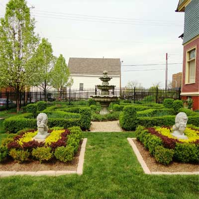 Formal Victorian Garden: After for the this old house reader remodel yard and garden winners 2012