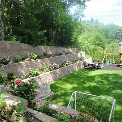 Backyard for Kids to Play: After for the this old house reader remodel yard and garden winners 2012