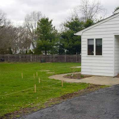 Garden with Many Rooms: Before for the this old house reader remodel yard and garden winners 2012