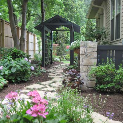 DIY Painted Pergola: After for the this old house reader remodel yard and garden winners 2012