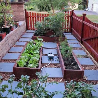 Raised-Bed Garden: After for the this old house reader remodel yard and garden winners 2012