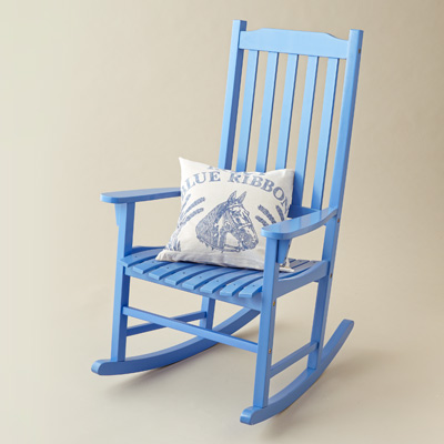 Rocking Chair  Create Classic Cottage Style With Cheery, Charming