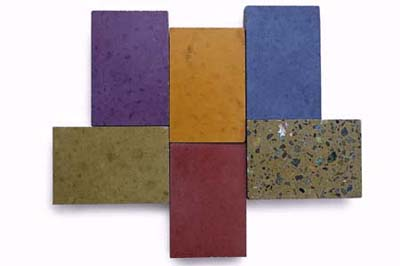 Geocrete countertops from Fu-Tung Cheng