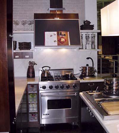 kitchen with range hood