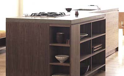 henrybuilt walnut kitchen cabinets