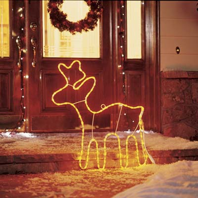 LED reindeer lights
