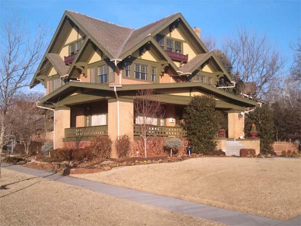 Mesta Park, Oklahoma City, Oklahoma  for the This Old House 2013 Best Old House Neighborhoods