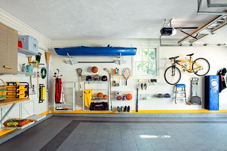 neat organized garage