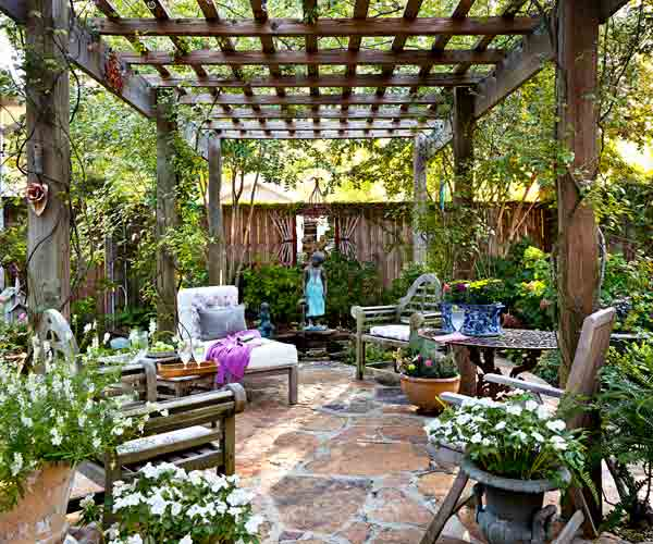5 Ways To Decorate Your Deck With Plants: 19: Create Ambience: Partial Shade