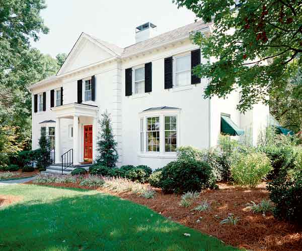 The Original Paint Color Ideas For Colonial Revival