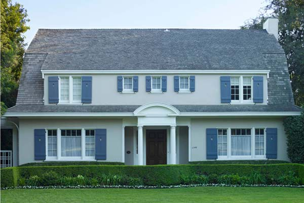 best exterior colors for colonial revival houses light gray stucco dutch colonial with gambrel roof