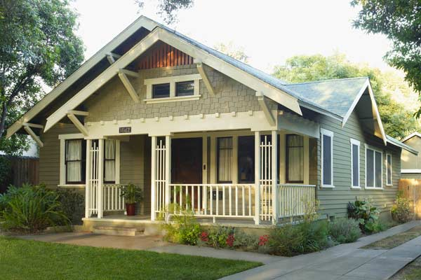 Down To Earth Paint Color Ideas For Craftsman Houses