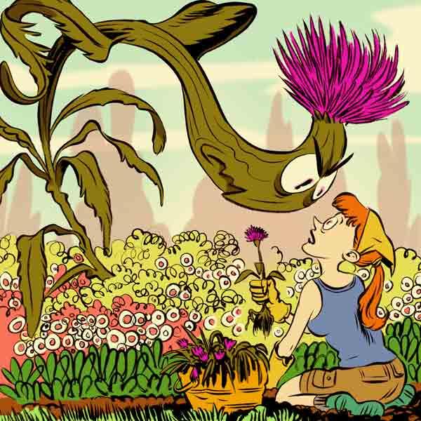 get rid of weeds, homeowner survival skills