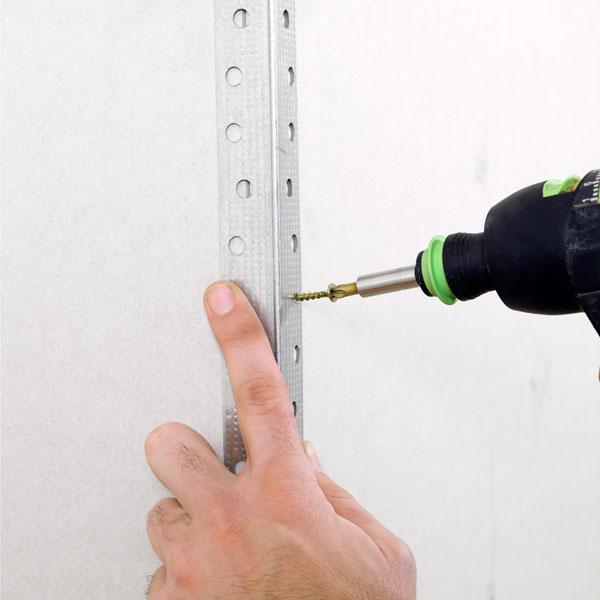 drilling in drywall corner bead, homeowner survival skills