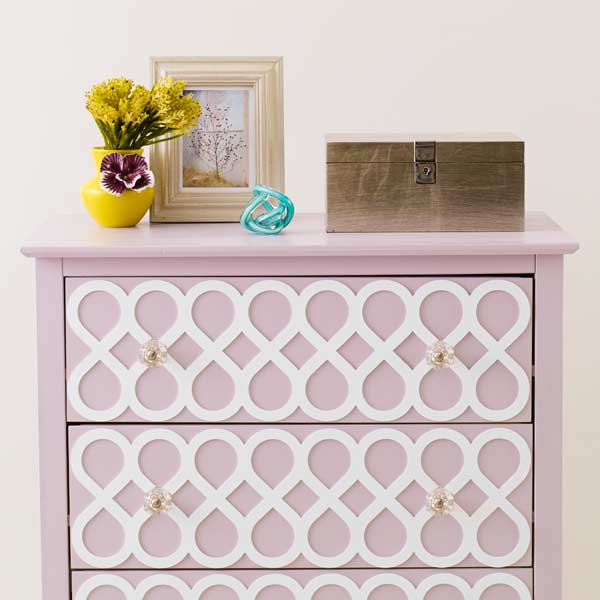 dresser with a face-lift