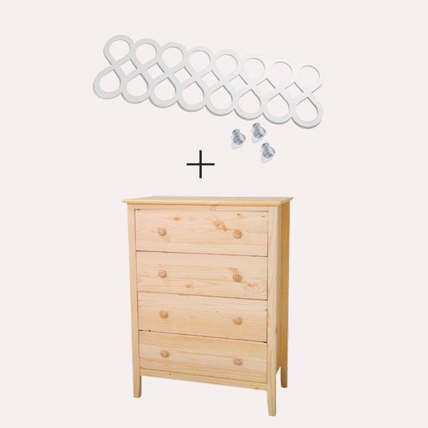 overlay with a plain dresser
