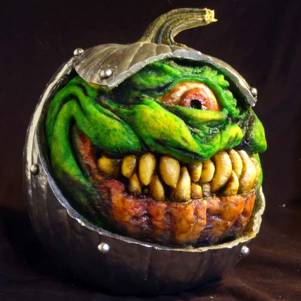 From Outer Space, editors' favorite pumpkin carvings