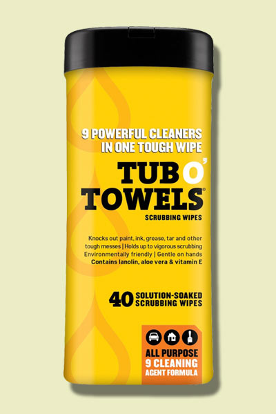 tub wipes, hand tool stocking stuffers