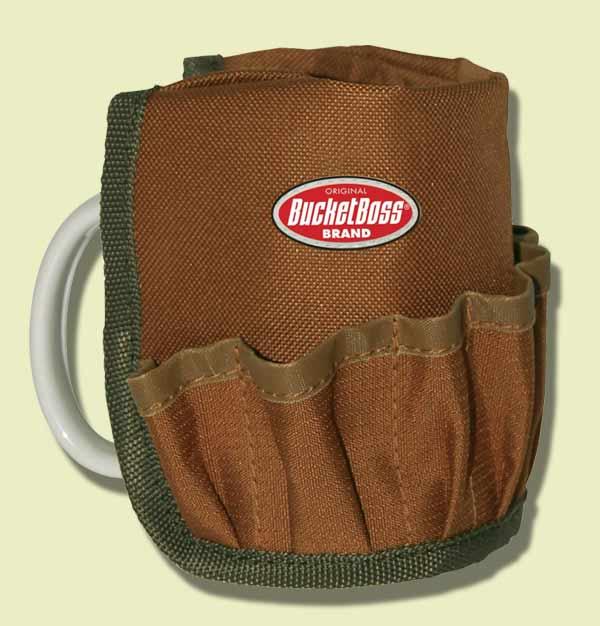 tool bag that fits on coffee mug, hand tool stocking stuffers