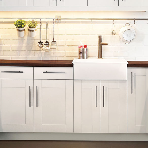 10 uses paint stirrer white kitchen cabinets with white painted brick walls