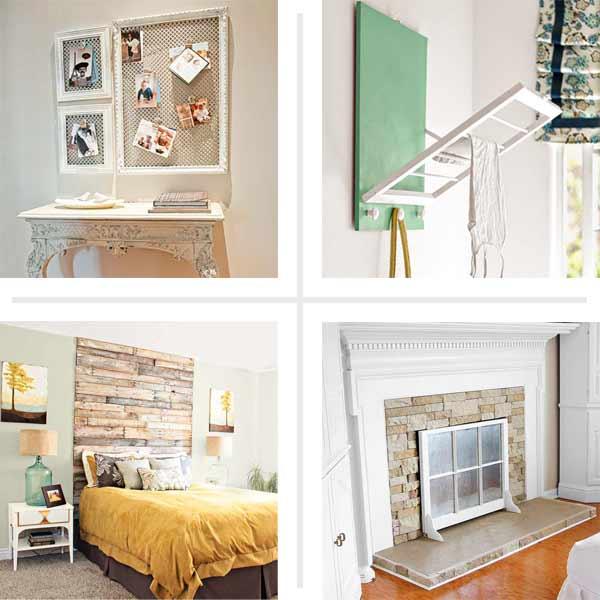 composite of money saving blogger DIY projects