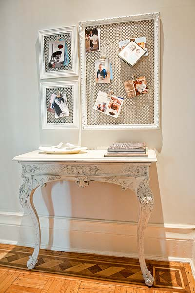 money saving blogger DIY project picture frame message board
