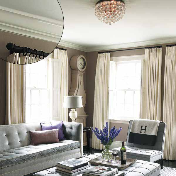 Volume for a Low Ceiling | 39 Crown Molding Design Ideas | This ...