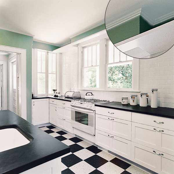 Kitchen Cabinets Moulding: 39 Crown Molding Design Ideas