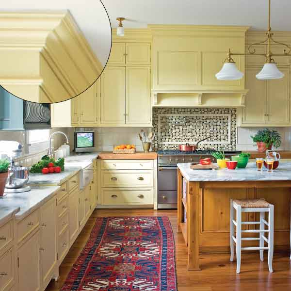 pics photos kitchen crown molding ideas bold and fun