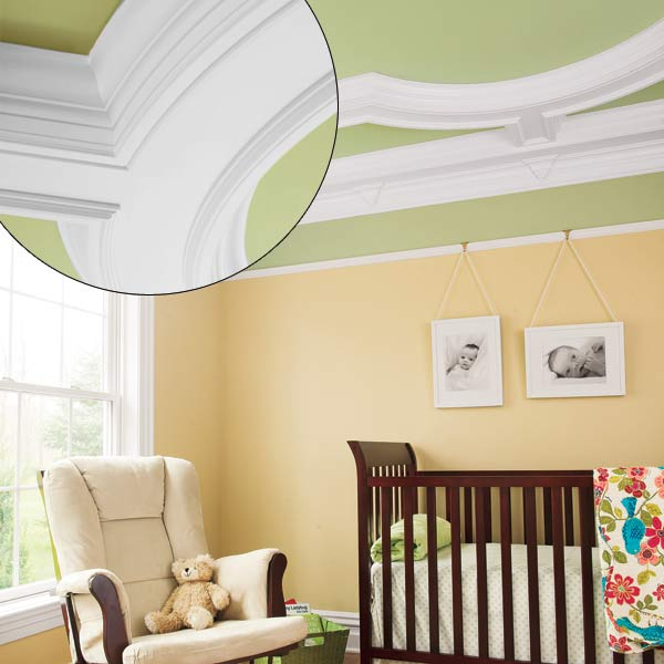 crown molding designs federal style trim coffered ceiling