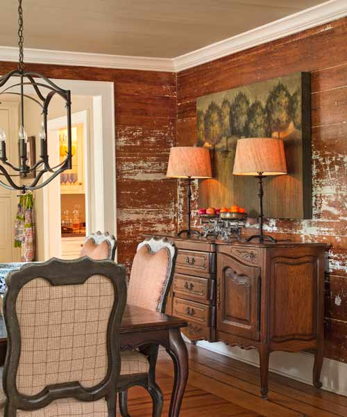 1. Distress Wood Wall Paneling | 13 Thrifty Ways to Give Your ...
