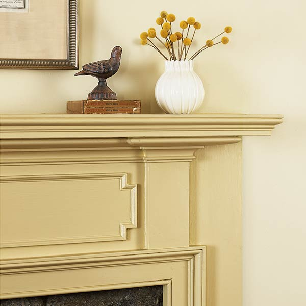 easy thrifty vintage charm update mantel dressed up with panel molding