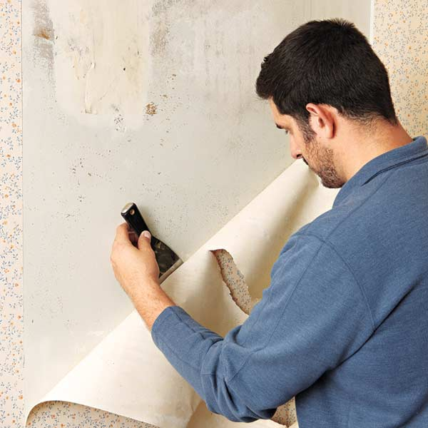 taking wallpaper off of plaster walls