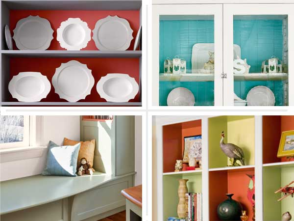 four examples of painted shelves gallery at this old house dot com