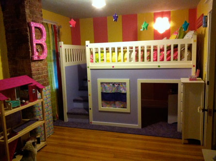 reader remodel kids bunk bed with dollhouse play area, this old house pinterest profile top pins of 2013