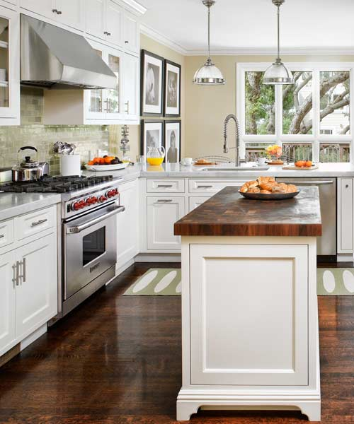 Small Kitchen Islands: Small Changes Equal Big