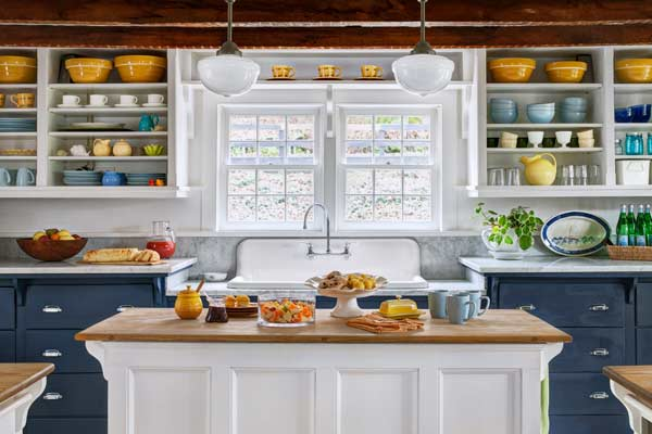 A Kitchen With Vintage Character: A Kitchen With More Function—and