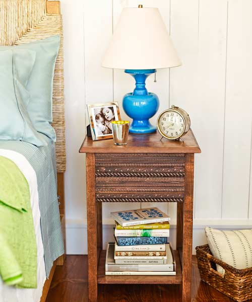 bedroom furniture step by step projects trimmed-out bedside table