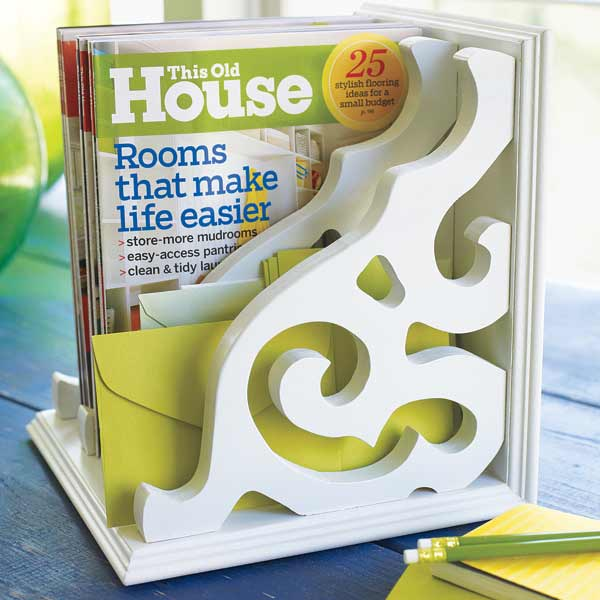 bedroom furniture step by step projects magazine rack