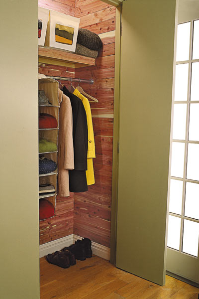 bedroom furniture step by step projects Cedar-Lined Closet