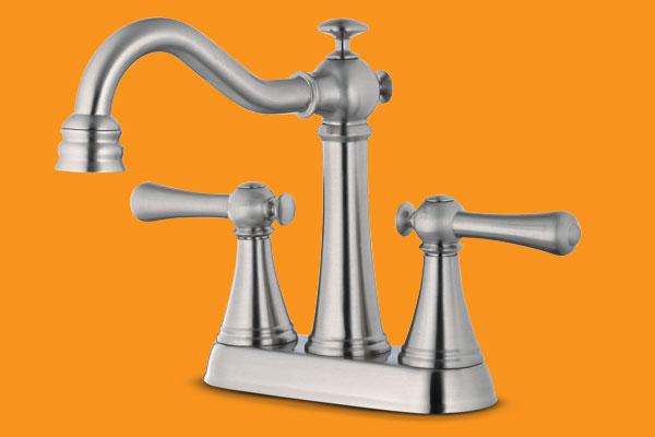 a bath faucet